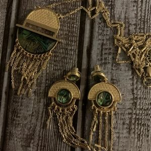 The earrings  from the Maya Riviera Se